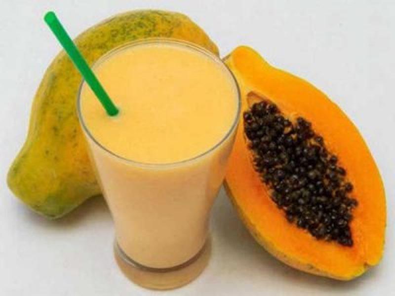 Batidos de papaya para perder peso