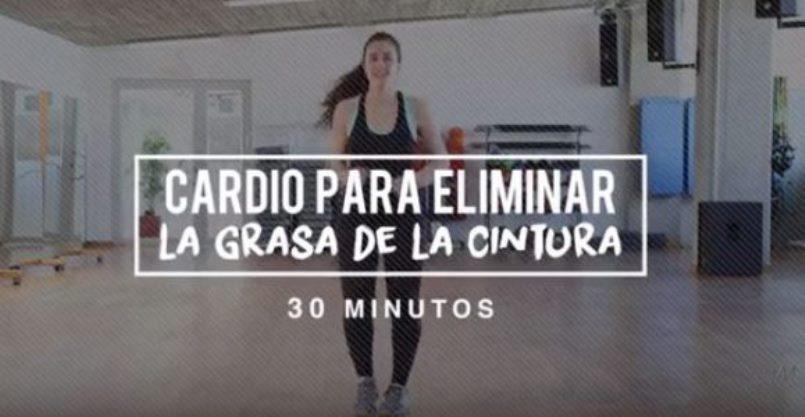 cardio para quemar grasa abdominal y cintura bailando